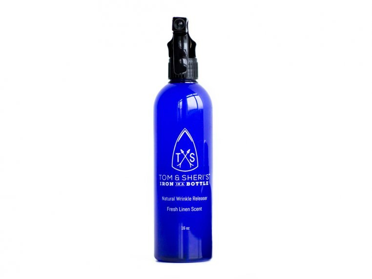 Plant-Based Wrinkle Releaser Spray by Tom & Sheri's Iron in a Bottle - 5