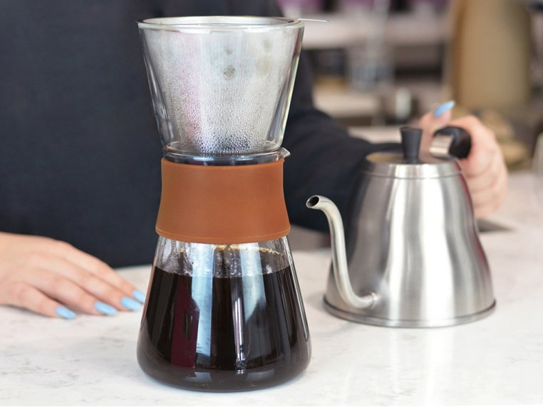 Pour Over Coffee Maker & Carafe Set by Grosche - 3