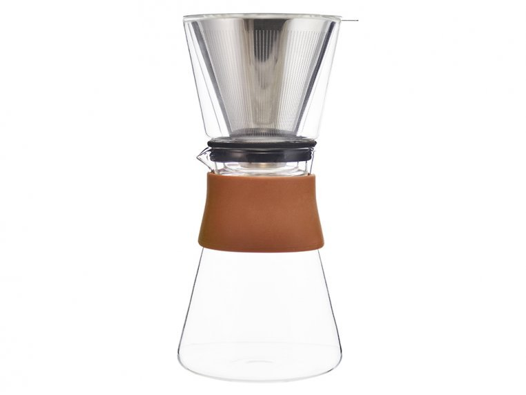 Pour Over Coffee Maker & Carafe Set by Grosche - 6