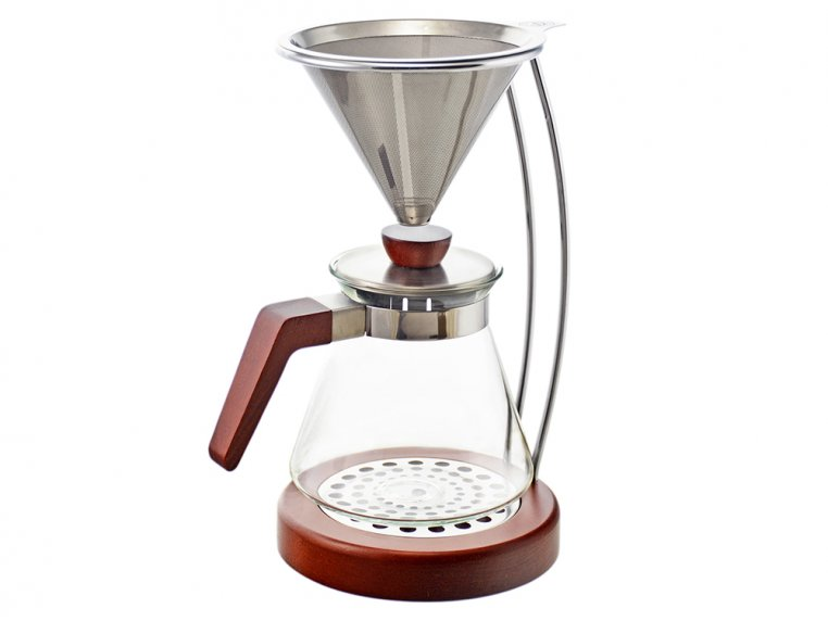 Pour Over Coffee Brewer & Stand Set by Grosche - 5