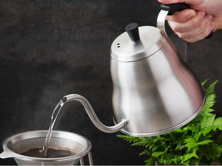 Gooseneck Pour Over Kettle by Grosche - 2
