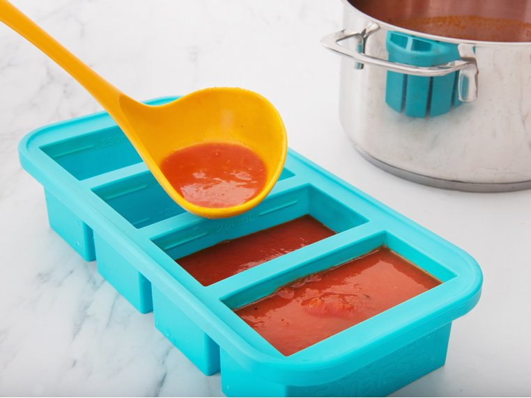 Soup & Stock Silicone Freezer Tray by Souper Cubes - 3