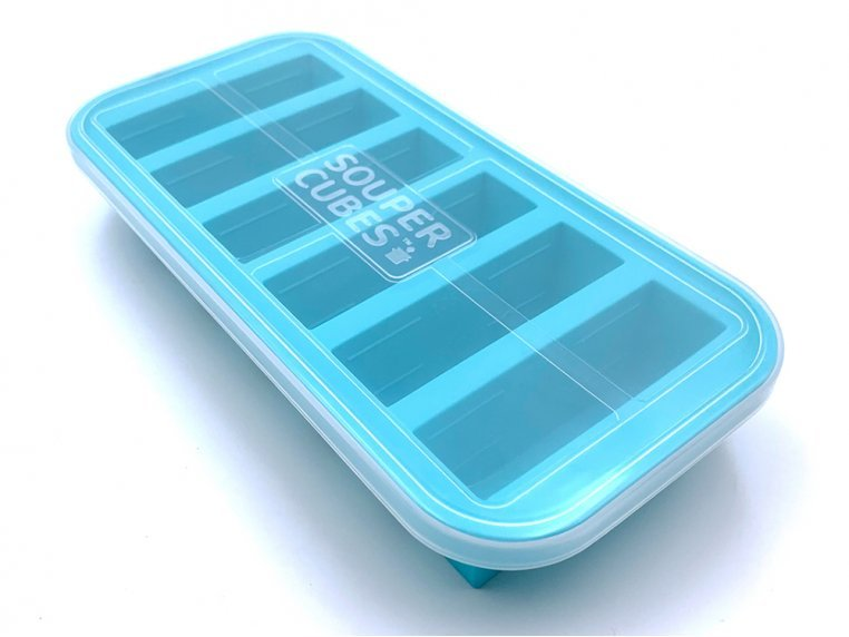 Soup & Stock Silicone Freezer Tray by Souper Cubes - 8
