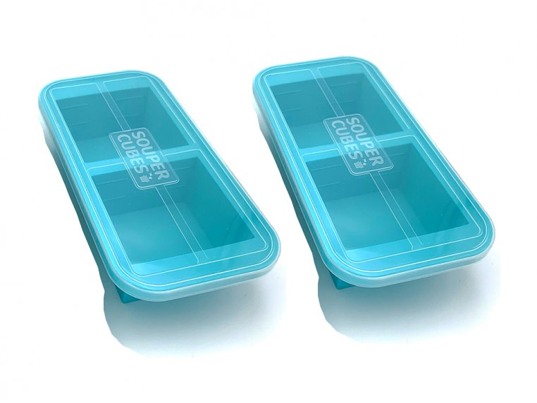 Soup & Stock Silicone Freezer Tray by Souper Cubes - 9