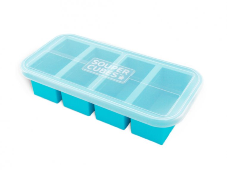 Soup & Stock Silicone Freezer Tray by Souper Cubes - 1
