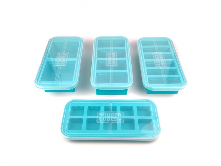 Ultimate Freezer Tray Gift Set by Souper Cubes - 1