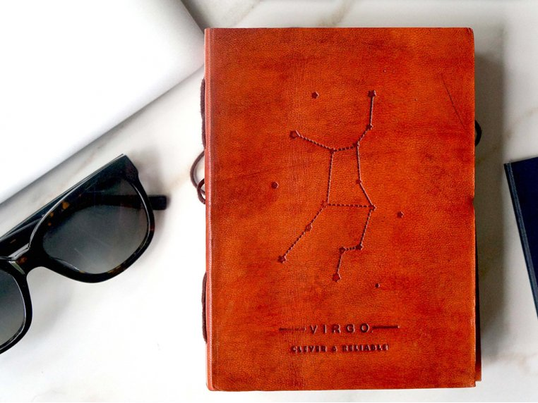 Handcrafted Leather Zodiac Journal by Soothi - 3