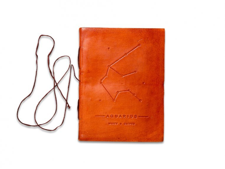 Handcrafted Leather Zodiac Journal by Soothi - 7