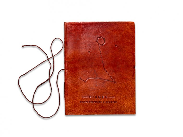 Handcrafted Leather Zodiac Journal by Soothi - 8