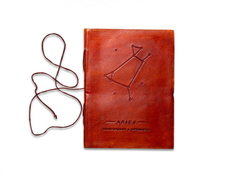 Handcrafted Leather Zodiac Journal by Soothi - 9