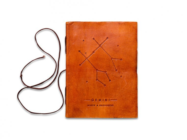 Handcrafted Leather Zodiac Journal by Soothi - 6