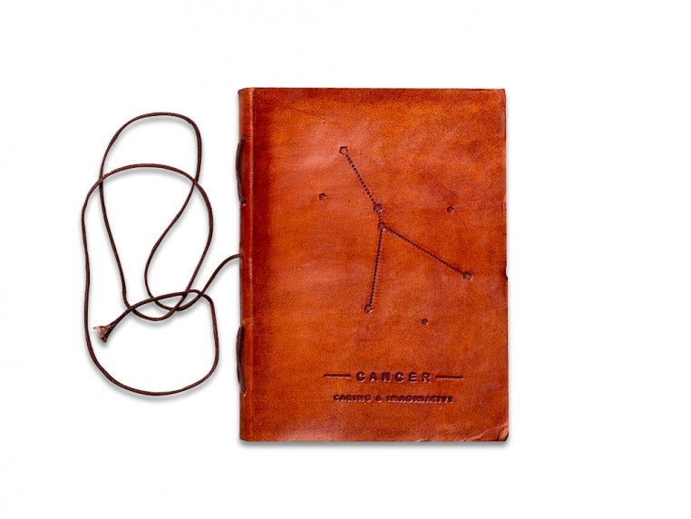 Handcrafted Leather Zodiac Journal by Soothi - 12