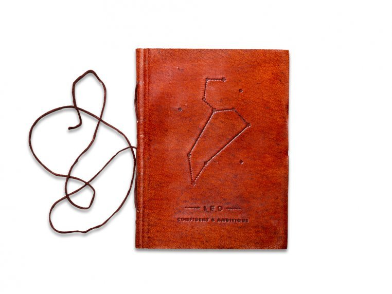 Handcrafted Leather Zodiac Journal by Soothi - 13