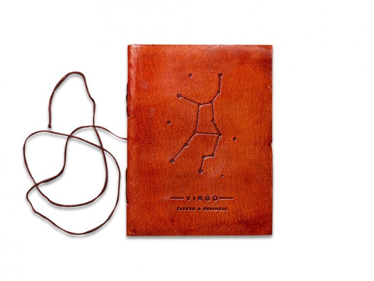 Handcrafted Leather Zodiac Journal by Soothi - 14