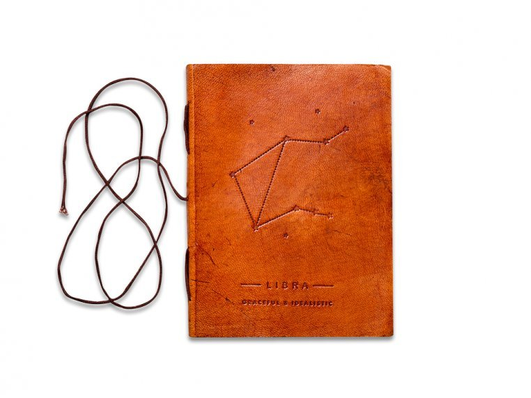 Handcrafted Leather Zodiac Journal by Soothi - 15