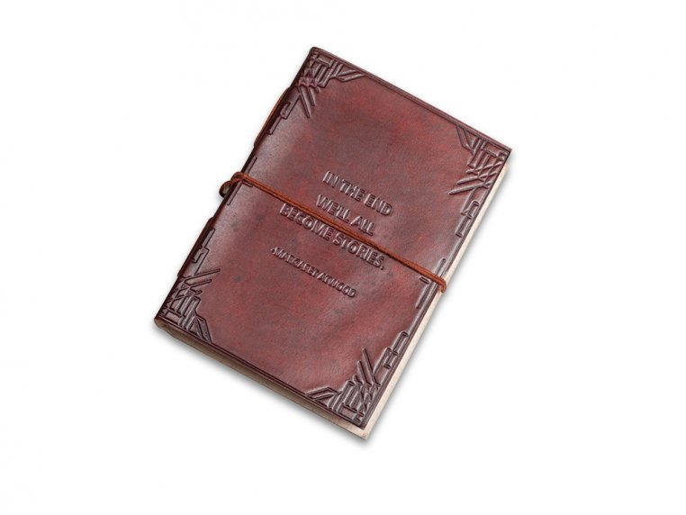 Handcrafted Leather Embossed Journal by Soothi - 6