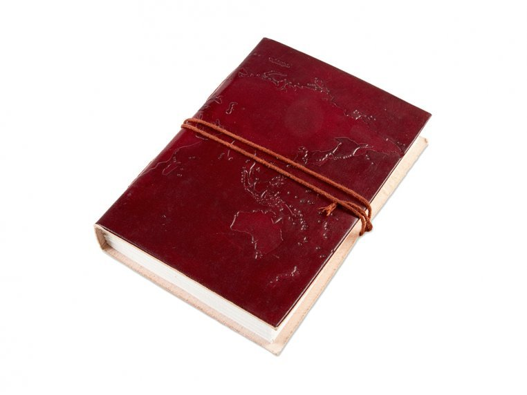 Handcrafted Leather Embossed Journal by Soothi - 10
