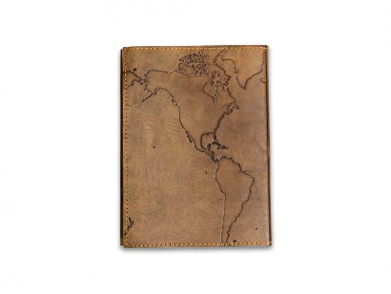 Handcrafted Leather Embossed Journal by Soothi - 11