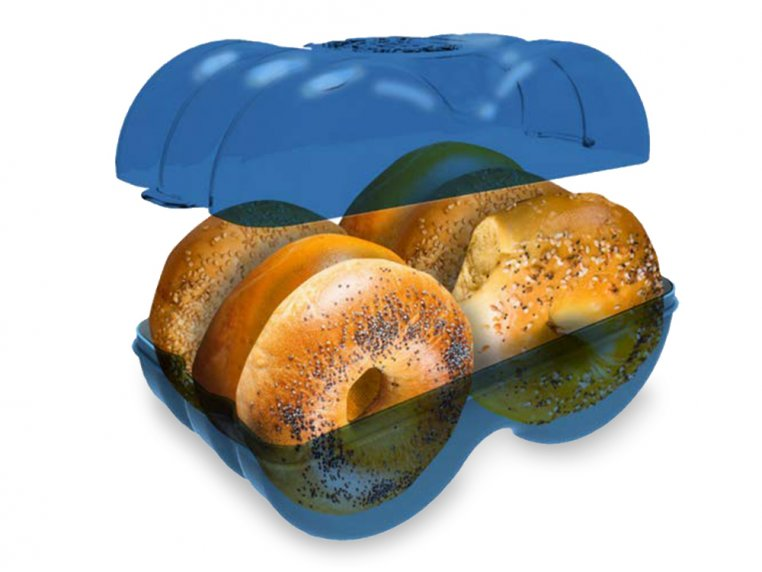 Bagel Storage Container by Muffin Fresh - 2