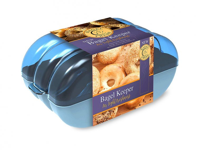 Bagel Storage Container by Muffin Fresh - 4