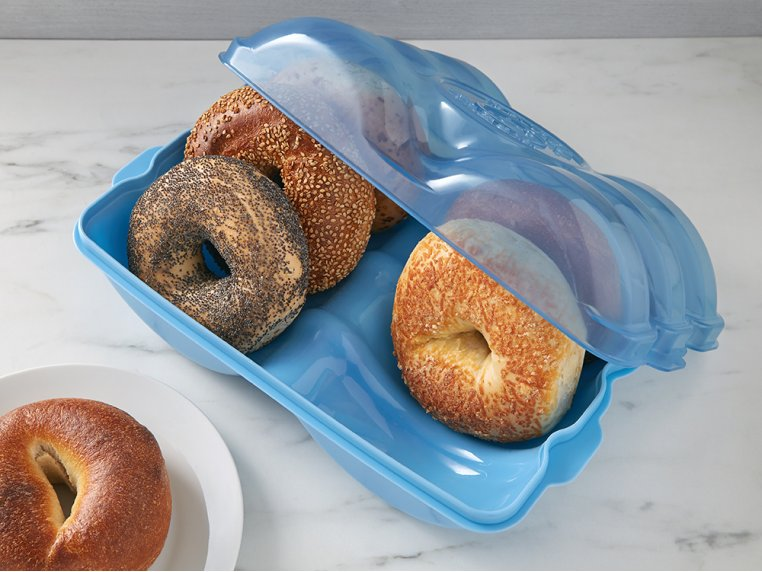 Bagel Storage Container by Muffin Fresh - 1