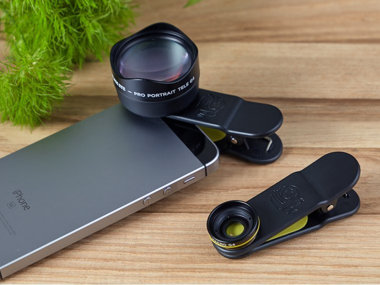 Clip-On Smartphone Lens by Black Eye - 1