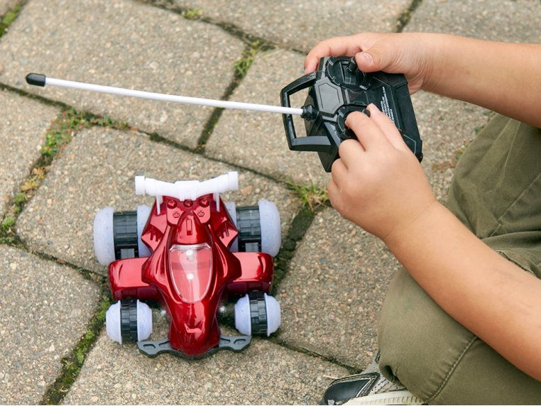 HoverQuad Remote Control Light-Up Car by Mindscope Products - 1