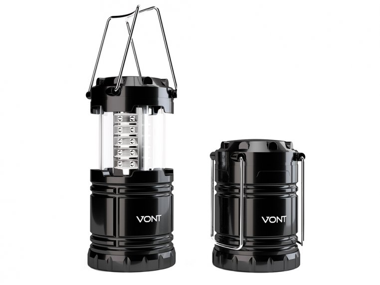 Collapsible LED Lantern - Set of 2 by Vont - 3