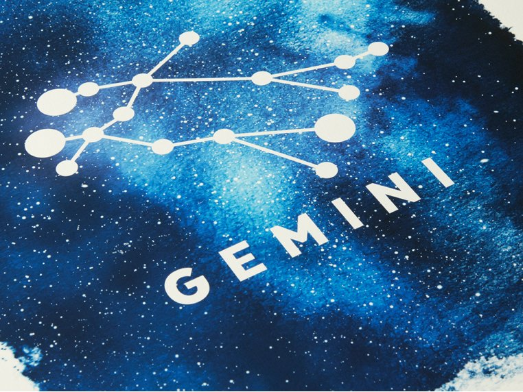 Constellation Zodiac Sign Art Print by Point Two Design - 2