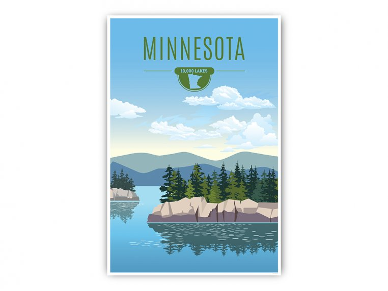 Iconic State Wall Art by Point Two Design - 20