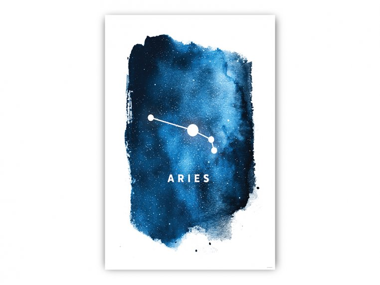 Constellation Zodiac Sign Art Print by Point Two Design - 4