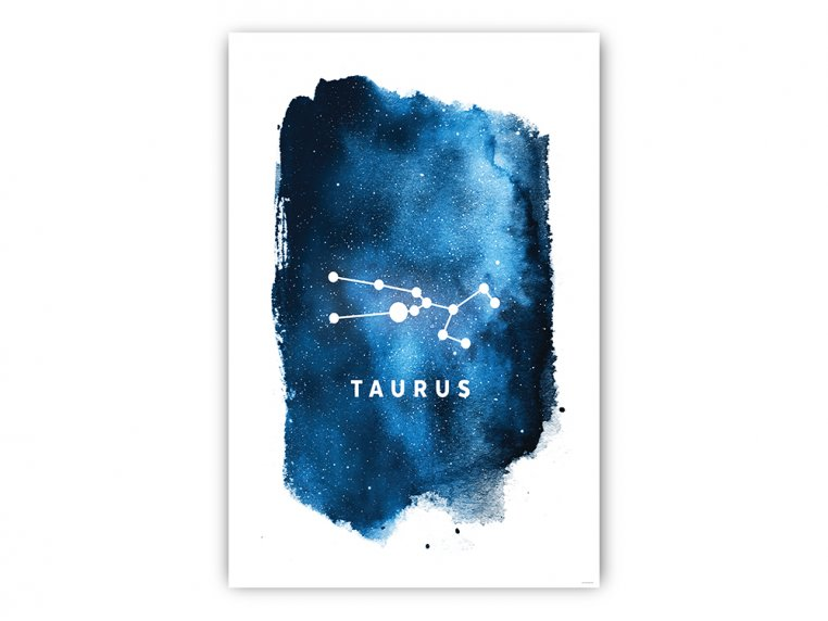 Constellation Zodiac Sign Art Print by Point Two Design - 5