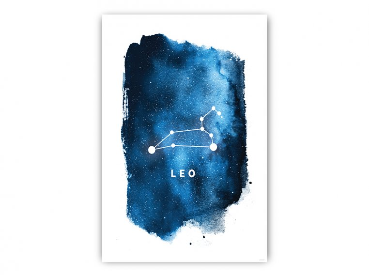 Constellation Zodiac Sign Art Print by Point Two Design - 8