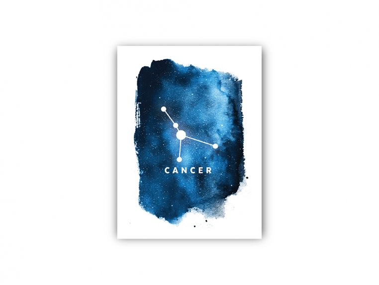 Constellation Zodiac Sign Art Print by Point Two Design - 19