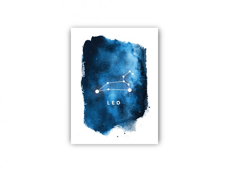 Constellation Zodiac Sign Art Print by Point Two Design - 20