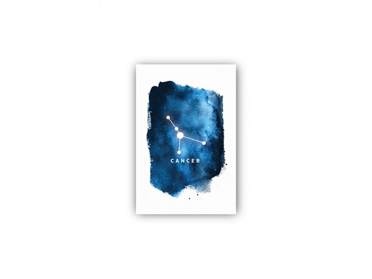 Constellation Zodiac Sign Art Print by Point Two Design - 31