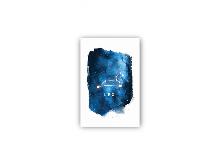 Constellation Zodiac Sign Art Print by Point Two Design - 32