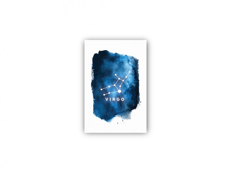 Constellation Zodiac Sign Art Print by Point Two Design - 33
