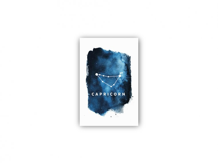 Constellation Zodiac Sign Art Print by Point Two Design - 37
