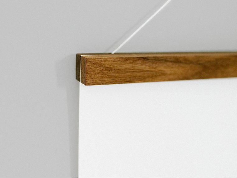 Reclaimed Wood Hanger Frame by Native Maps - 3