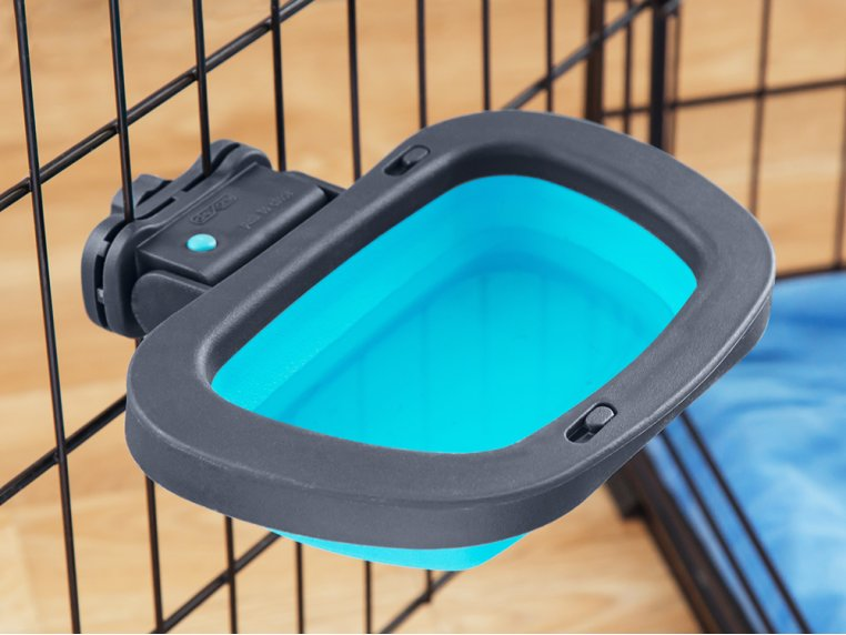 Popware Collapsible Kennel Bowl by Dexas - 1