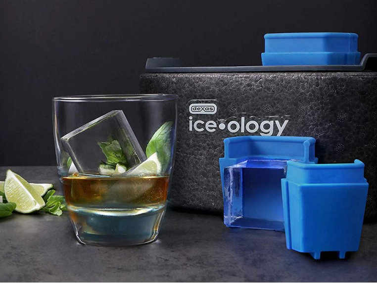 Clear Ice Cube Maker by Dexas Ice-ology - 2