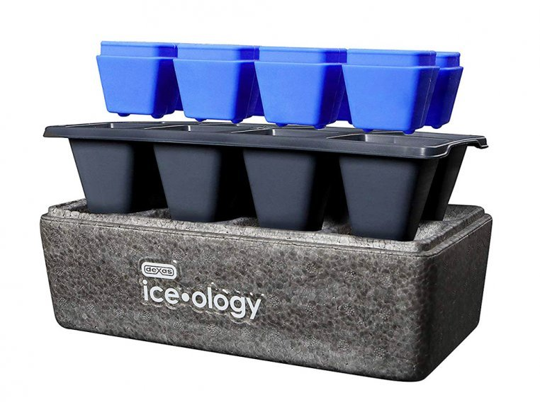 Clear Ice Cube Maker by Dexas Ice-ology - 3