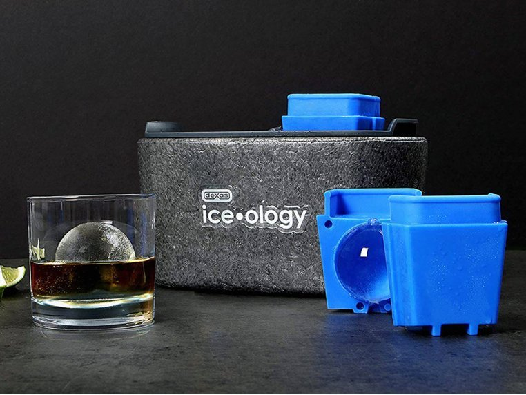 Clear Ice Cube Maker by Dexas Ice-ology - 1