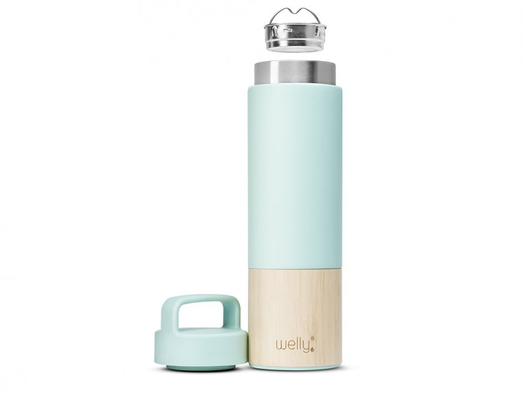 Bamboo Infuser Travel Bottle by Welly Bottle - 4