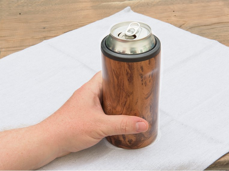 Hopsulator Stainless Steel Beer Can Cooler by BrüMate - 1