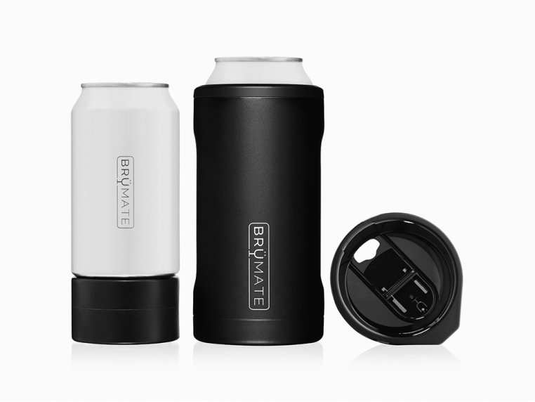 Hopsulator Stainless Steel Beer Can Cooler by BrüMate - 3