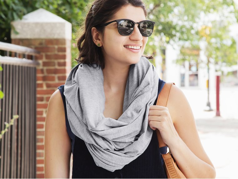 2-in-1 Travel Pillow Infinity Scarf by Sleeper Scarf - 2