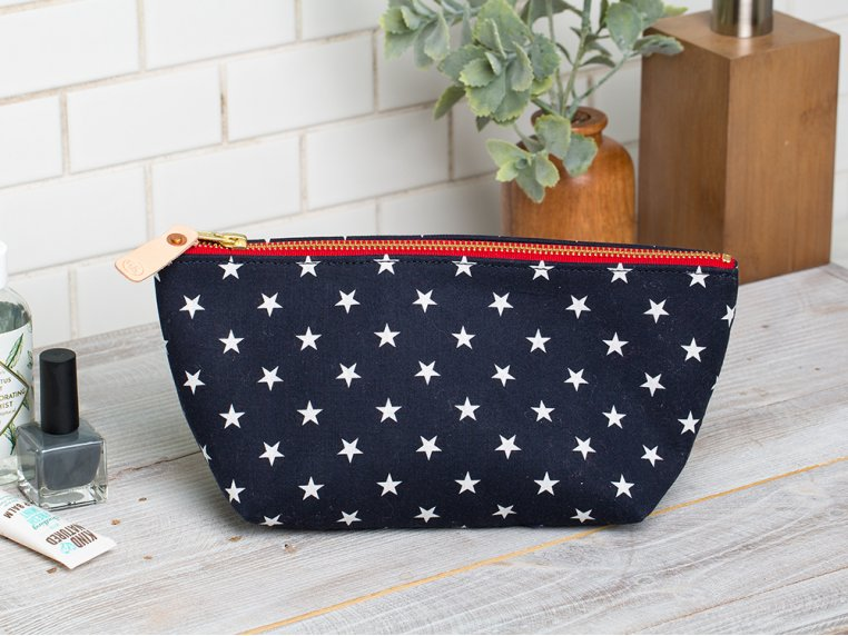 Travel Cosmetic bag by General Knot & Co. - 1