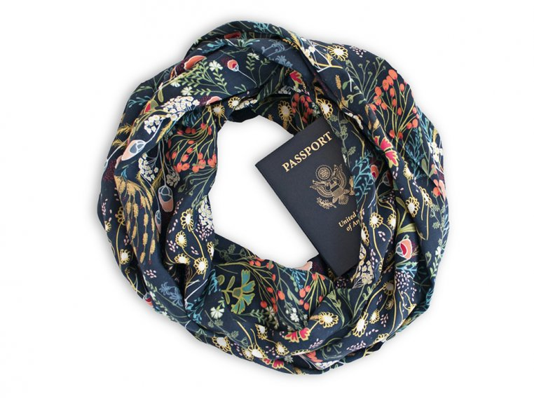 Infinity Pocket Scarf by Speakeasy Travel Supply - 3